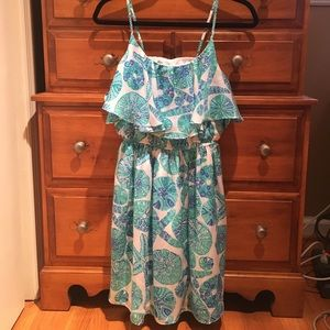 Lilly Pulitzer Target Flounce dress sea urchin